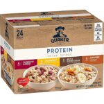 Thumbnail image for Quaker Instant Oatmeal Protein Variety Packets for $0.45 Each Shipped