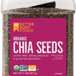 Thumbnail image for BetterBody Foods Organic Chia Seeds | 2 Pounds for $5.84 Shipped