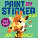 Thumbnail image for Paint by Sticker Kids Zoo Animal Book for $8.44