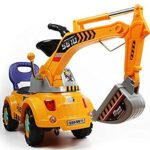 Thumbnail image for Digger Scooter Ride-On Excavator Toy for $62.98 Shipped