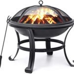 Thumbnail image for Outdoor 22″ Fire Pit with Cover for $57.99 Shipped