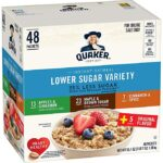 Thumbnail image for Quaker Instant Low Sugar Oatmeal Packets for $0.16 Each Shipped