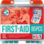 Thumbnail image for 85 Piece First Aid Kit for $5.98 Shipped