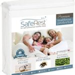 Thumbnail image for SafeRest Twin XL Hypoallergenic Waterproof Mattress Protector for $24.95