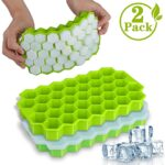 Thumbnail image for BPA-Free Silicone Ice Cube Molds with Lid | 2-pack for $13.99