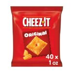 Thumbnail image for Cheez-It Orginal Baked Cheese Crackers for $0.25 per Pouch Shipped