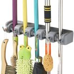 Thumbnail image for Wall Mounted Mop and Broom Organizer for $11.39