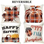 Thumbnail image for Fall Throw Pillow Covers | Set of 4 for $13.99