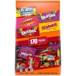 Thumbnail image for Skittles, Starburst, & Life Saver Gummies Halloween Candy for $0.06 Each