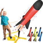 Thumbnail image for Toy Rocket Launcher with 8 Foam Rockets for $19.99