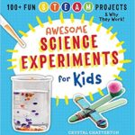 Thumbnail image for Awesome Science Experiments for Kids Book for $8.99