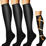 Thumbnail image for Compression Socks for Sports, Travel, Standing | 3-Pack for $8.49