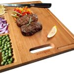 Thumbnail image for Large Organic Bamboo Cutting Board for $19.99