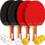 Thumbnail image for Ping Pong 4-Player Paddle and Ball Set for $19.99