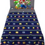 Thumbnail image for Kids Super Mario Twin Bedding Sheet Set for $16.49