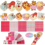 Thumbnail image for Valentine's Day Class Set 30 Slap Bracelets and Cards for $9.40